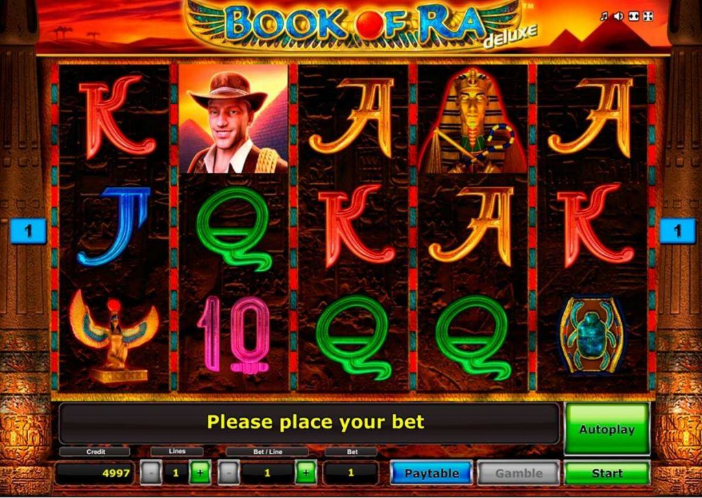 book of ra deluxe paytable